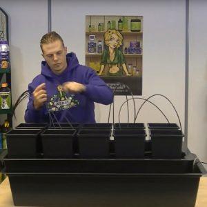 Hidroponik Sistem Bitki Yetistirme Kabinleri