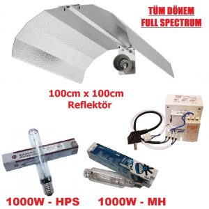 100x100 reflektor-full-spectrum-balast-lamba-1000w-set