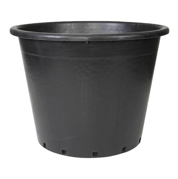 110 litre siyah buyuk saksi fidan saksisi