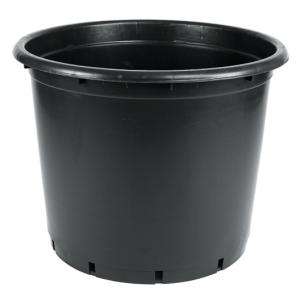 155 litre siyah buyuk saksi fidan saksisi